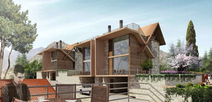 Villa for Sale Ehmej ( Laqlouq ) Jbeil Building area 292 Sqm and Total Area Land 110Sqm