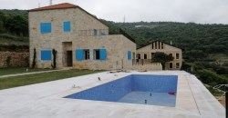 Villa for Sale Chabtine Batroun Housing Area 280 Sqm and Land 900Sqm