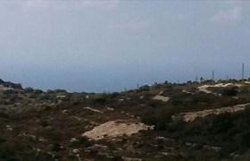 Land for Sale gharzouz Jbeil Area 2000Sqm