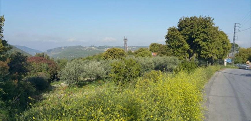 Land for Sale Kfifan ( Deir Kfifan ) Batroun Area 1280Sqm
