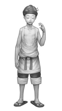 えび剥き屋の子供