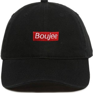 Boujee Dad Hat Baseball Cap Embroidered Cotton Adjustable