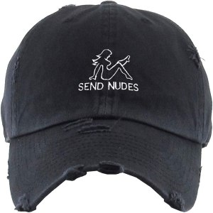 Send Nudes Dad Hat Baseball Cap Embroidered Cotton Adjustable