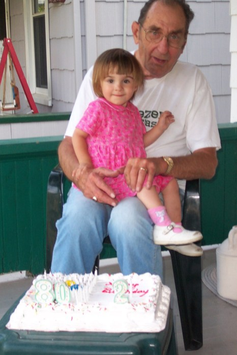 Matilda & Great Grandpa