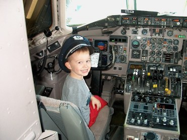 Paxton the pilot