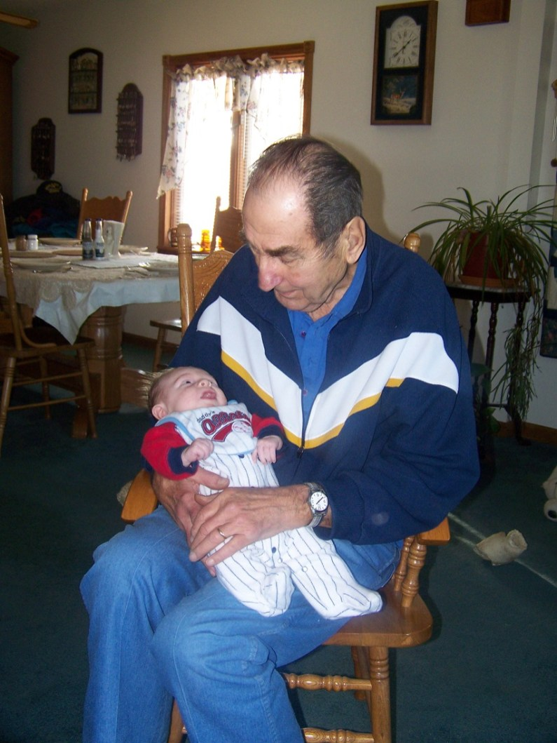 Great Grandpa & Alex