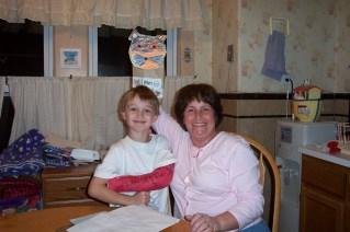 Grandma and Paxton