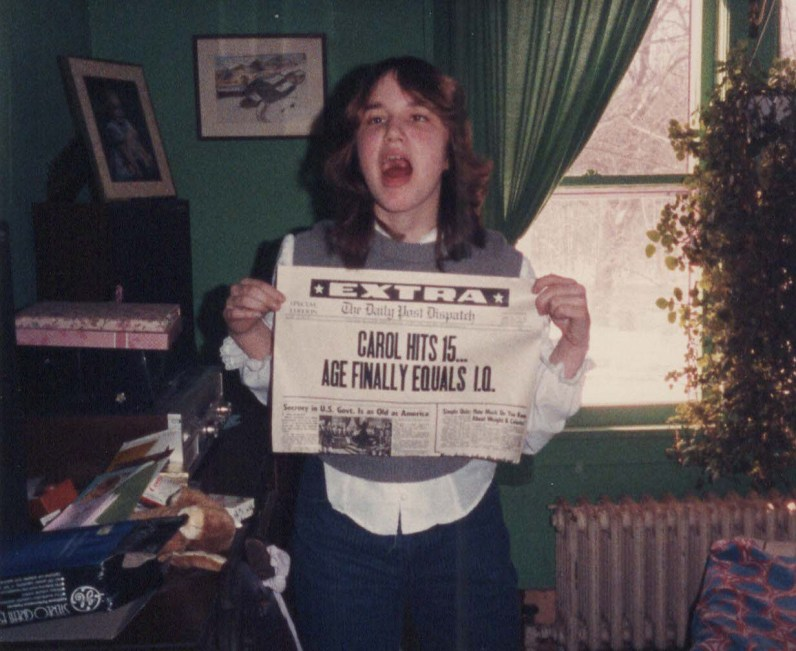 Carol at 15