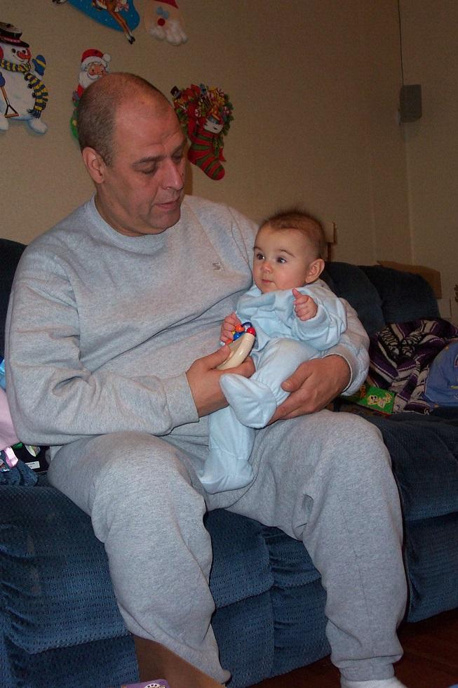 Matilda with grandpa