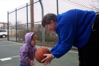 Matilda plays basketball 2004-