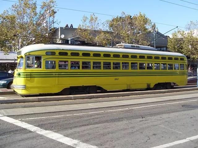 F-Trolley in San Francisco