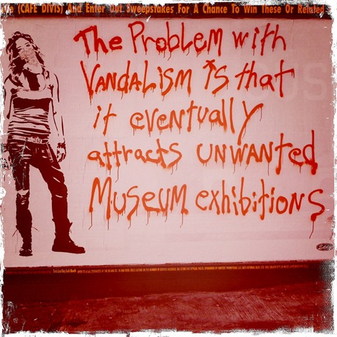 The Problem with Vandalism