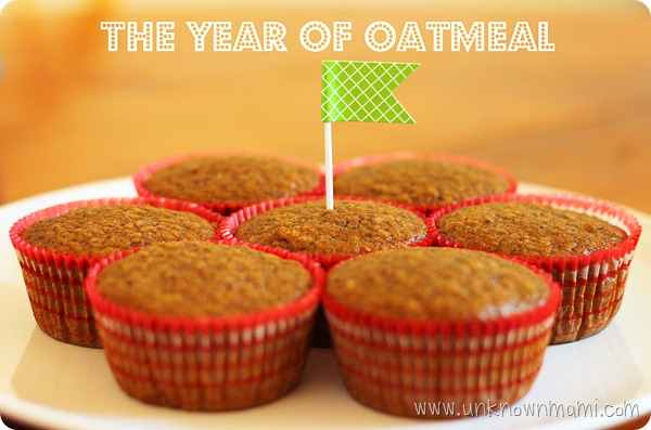 Mexican Chocolate Oatmeal Muffins with ingredients from Lucky Supermarkets