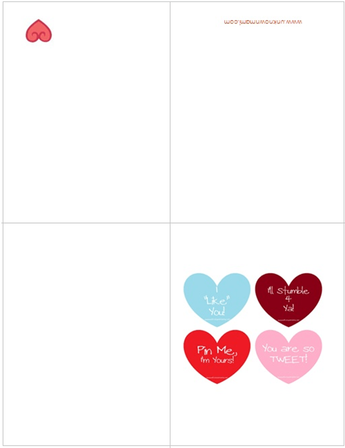 Free-Printable-Valentine's-Day-Cards