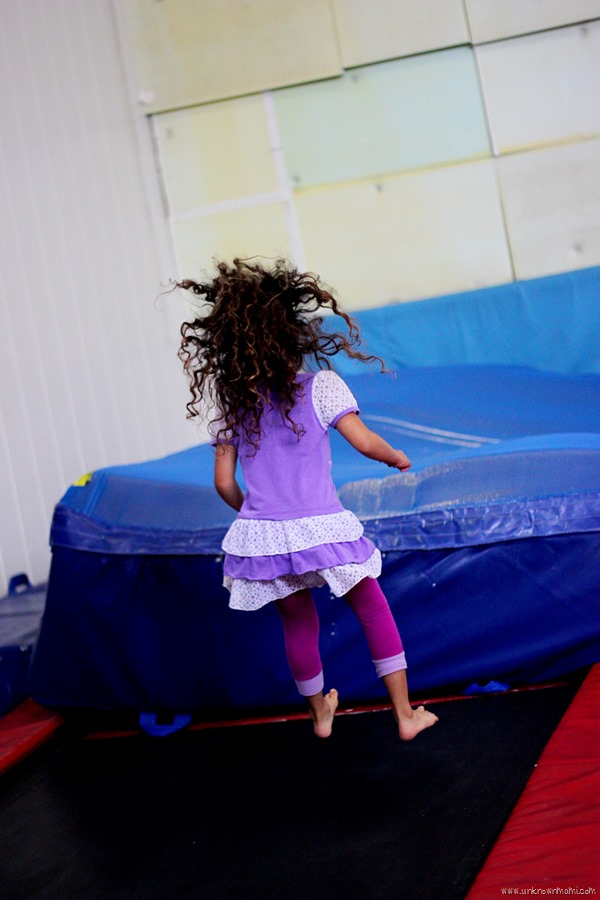 Trampoline at Acro Sports