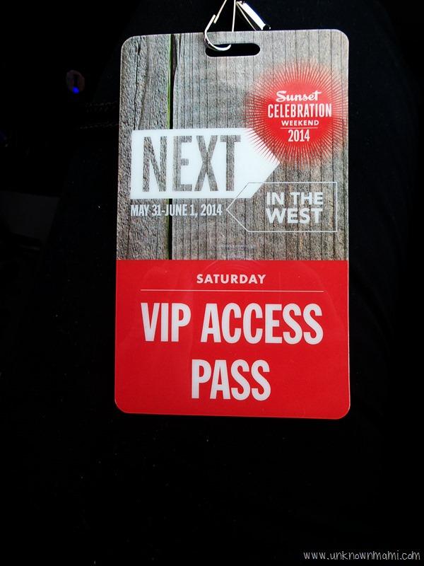 Sunset celebration VIP pass