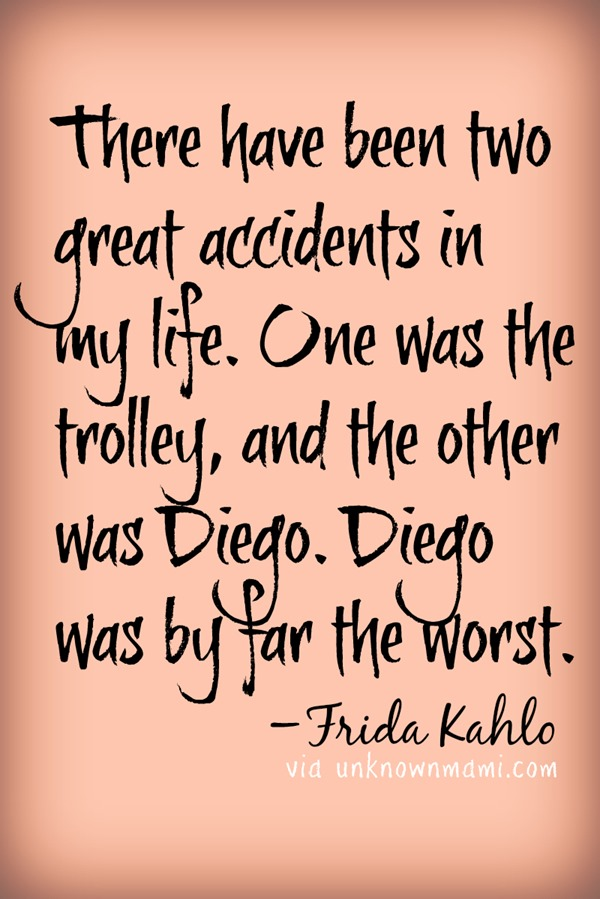 Frida's thoughts on Diego