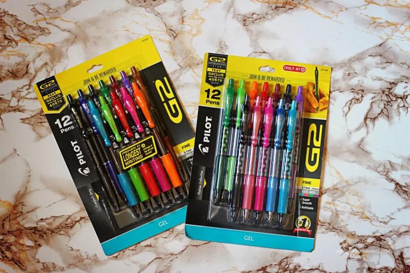 G2 Pilot Gel Pens