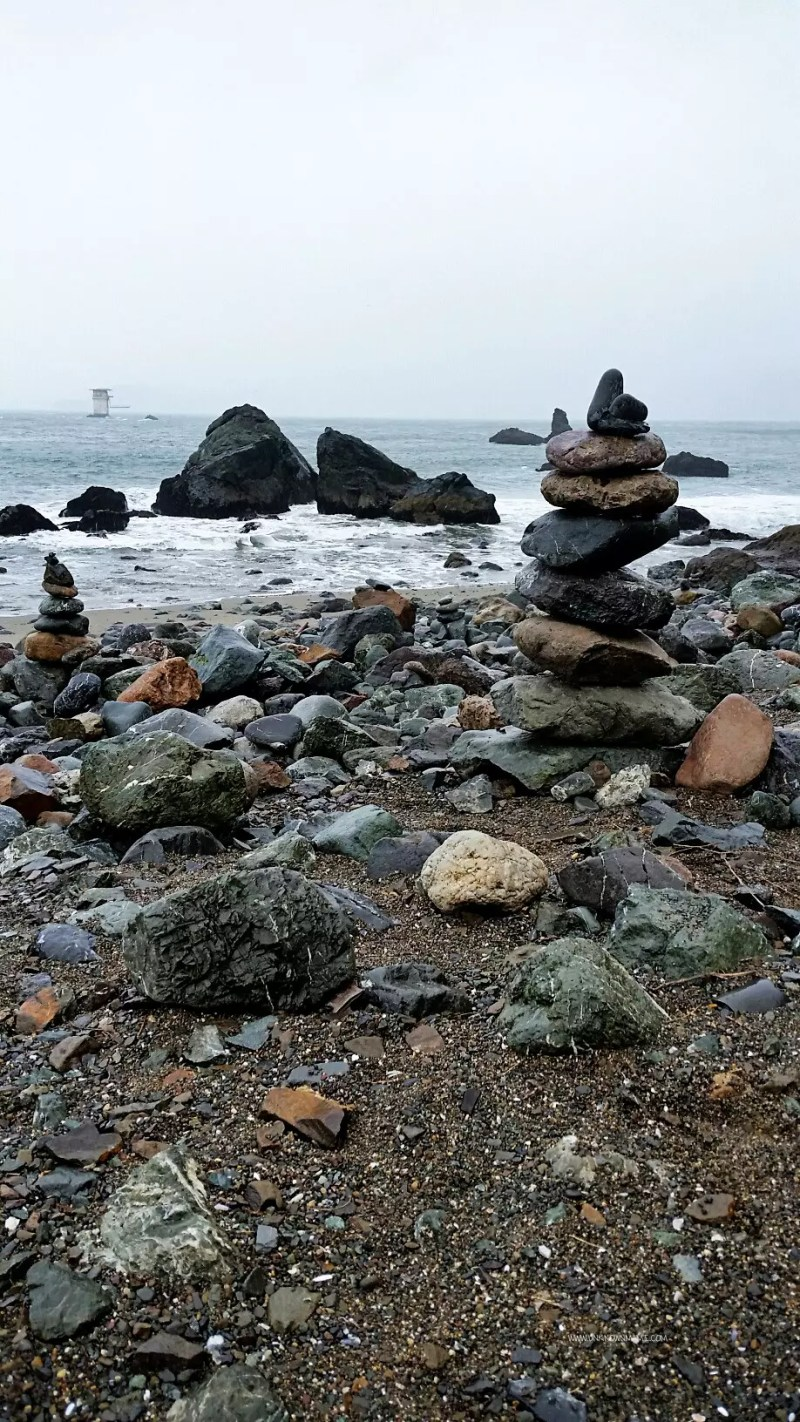 Stacked Rocks at Lands End