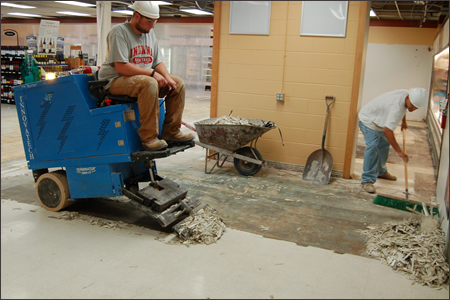 flooring removal tile removal madison