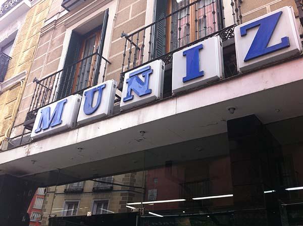 Bar Muñiz, Madrid