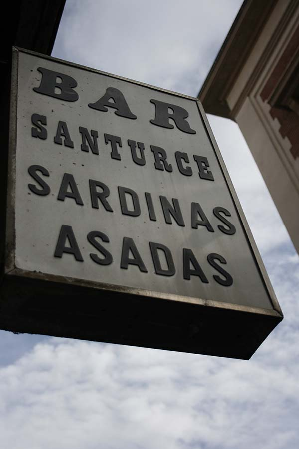 Bar Santurce, Madrid, el rastro