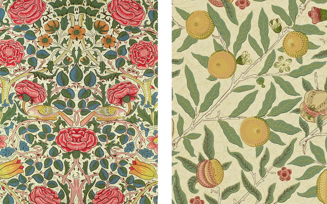 Papeles pintados William Morris