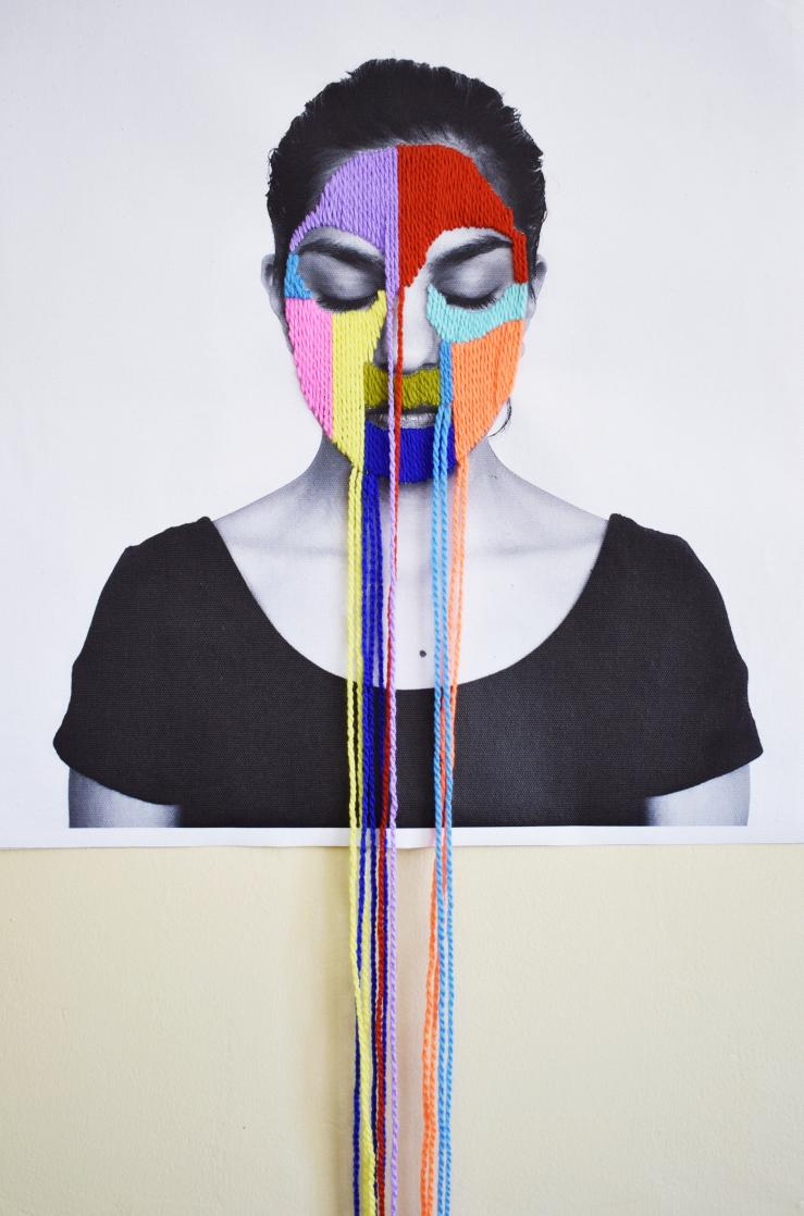 Victoria Villasana, bordados