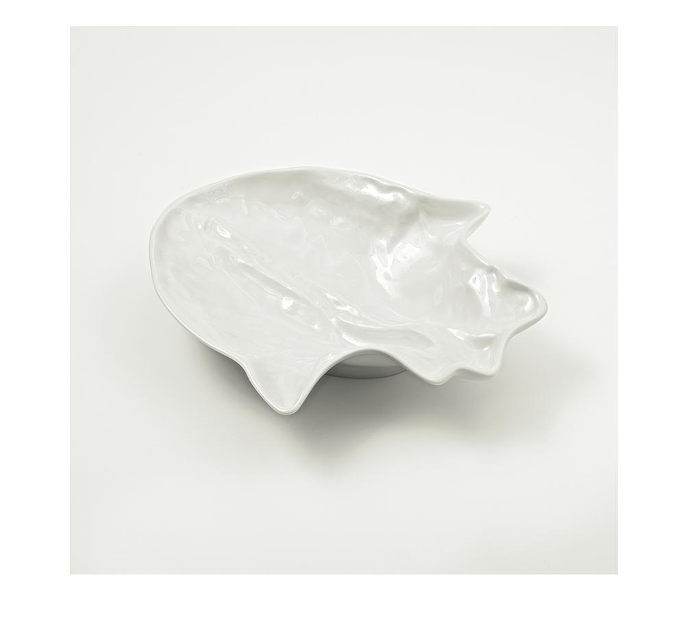 Marré Moerel, pieza de vajilla realizada con un corazón de vaca