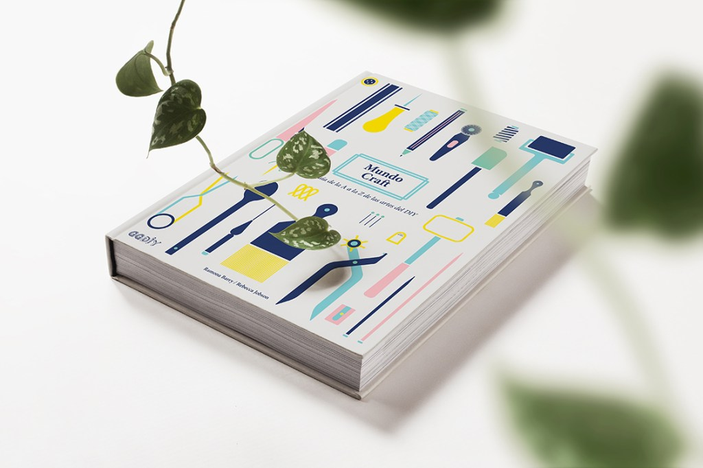 Libro Mundo Craft, editorial GG DIY