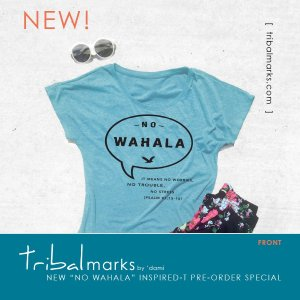 tribal marks by dami new ladies' African Nigerian inspired T shirt launch no wahala pre-order style composition