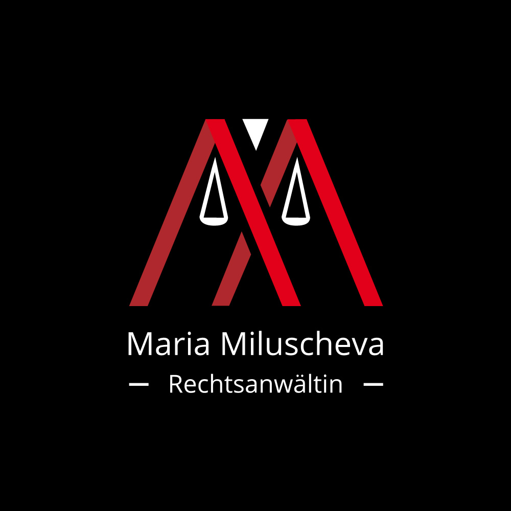 Maria Miluscheva logo design