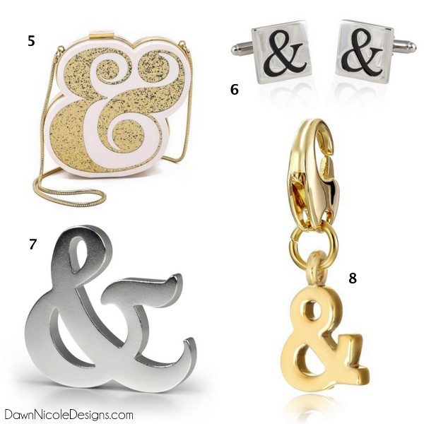 All Things Ampersand | I have an ampersand obsession...I need all of these! | dawnnicoledesigns.com