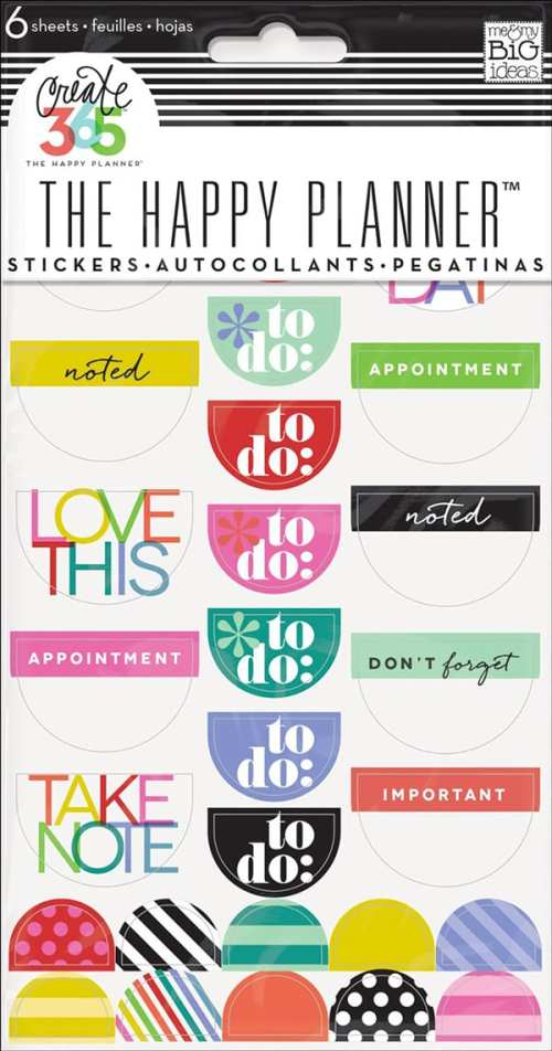 10 Pretty Sets of Planner Stickers