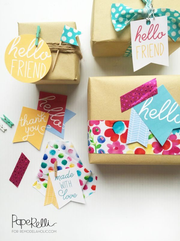 Everyday Gift Tag Printables and Ideas | www.dawnnicoledesigns.com