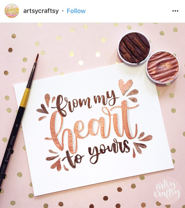 Lettering Inspiration: March Instagram Features