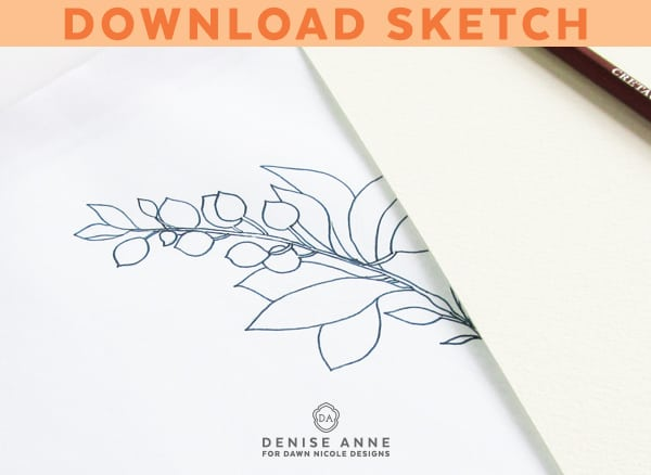 how-to-paint-leafy-watercolor-branch-tutorial