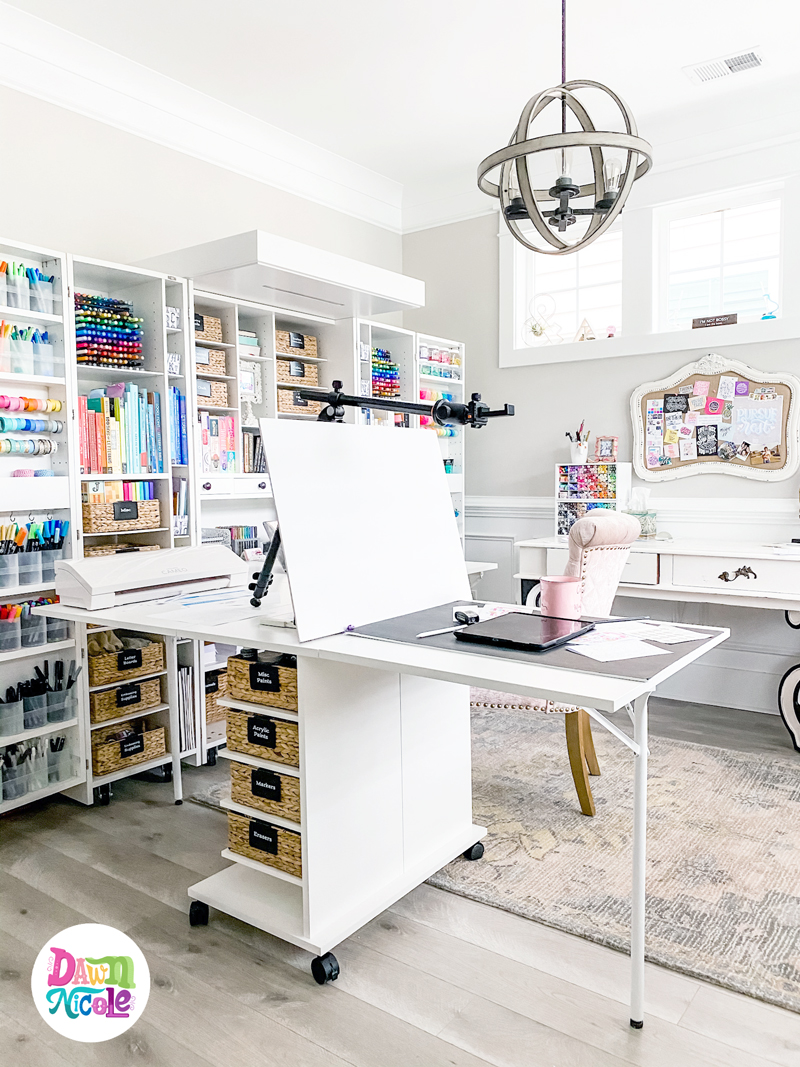 DreamBox + DreamCart = One Dreamy Workspace! I recently added the DreamCart to my DreamBox setup and it gives me so much more surface area to work. Come check it out!