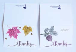 etsy thank you cards