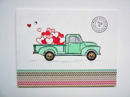 Valentine Honey Bee Little Pickup