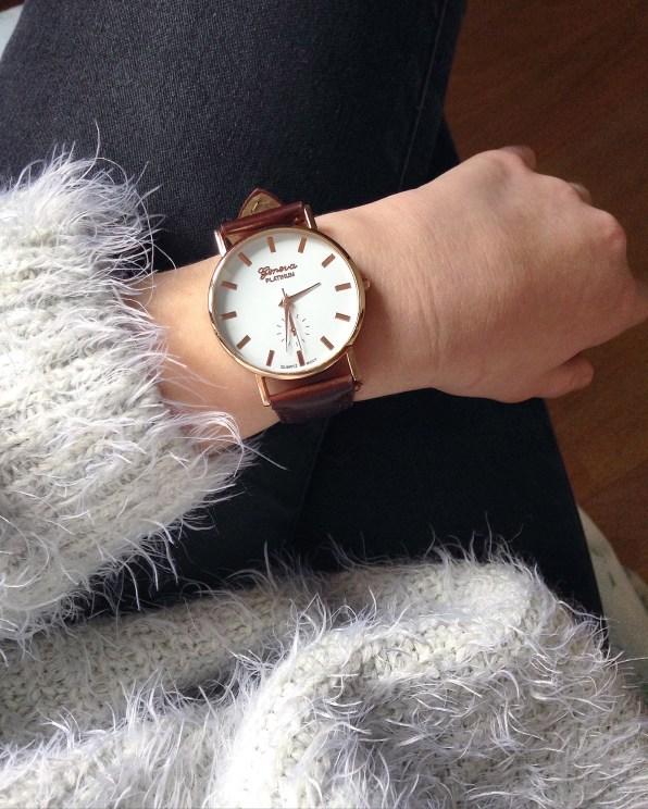 montre porté