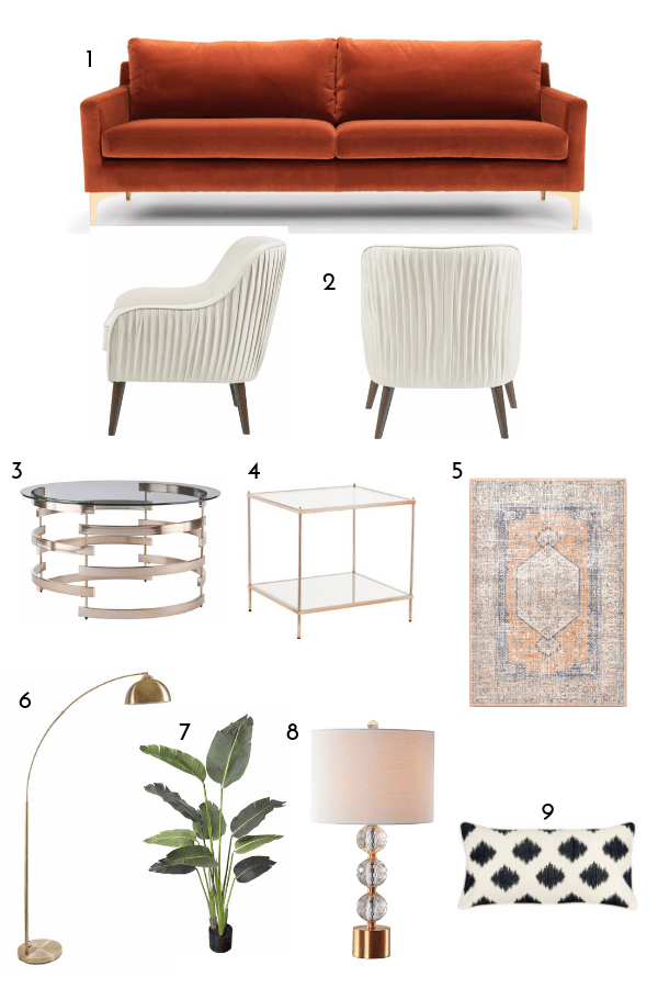RECREATE THIS WEST ELM LIVING ROOM FOR LESS