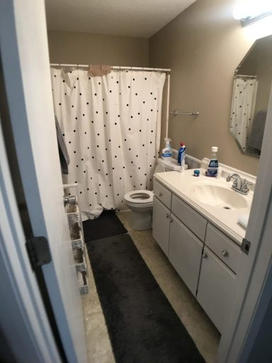 before picture of a bathroom makeover