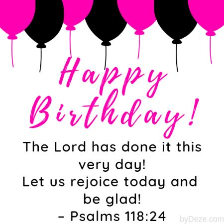 Top 36 Happy Birthday Bible Verses - Celebrate With