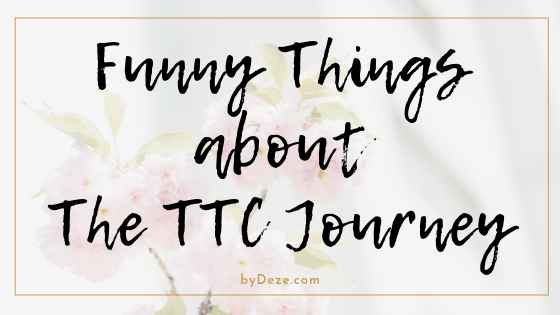 banner - funny things about the ttc journey (trying to conceive)