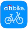 citibike app symbol - an app for biking in new york