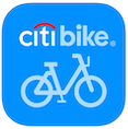 citibike app symbol - an app for biking in new york