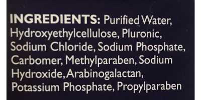 preseed ingredient list