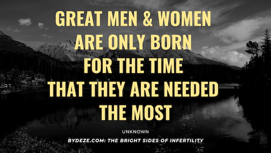 motivational quote about infertility