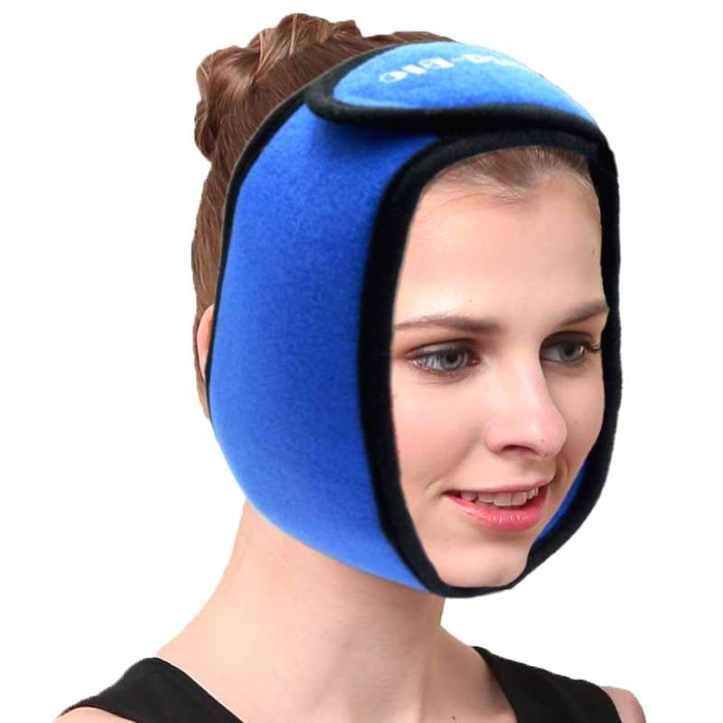 face and jaw support as a dental surgery gift